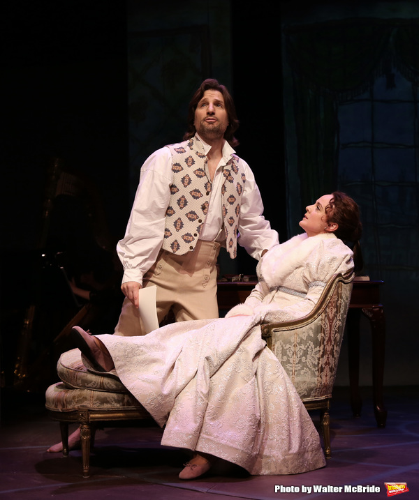 John Cudia and Melissa Errico Photo
