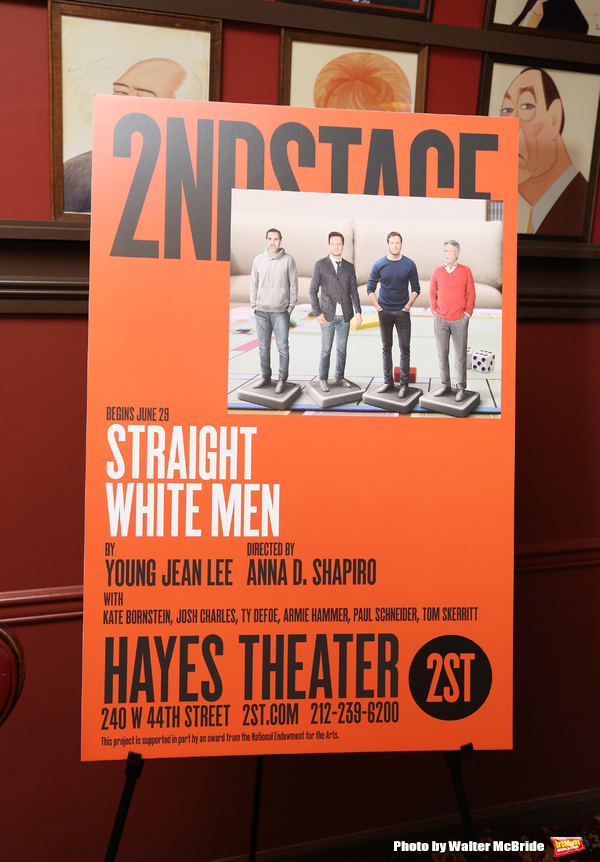 Second Stage Theatre Company production of 'Straight White Men'