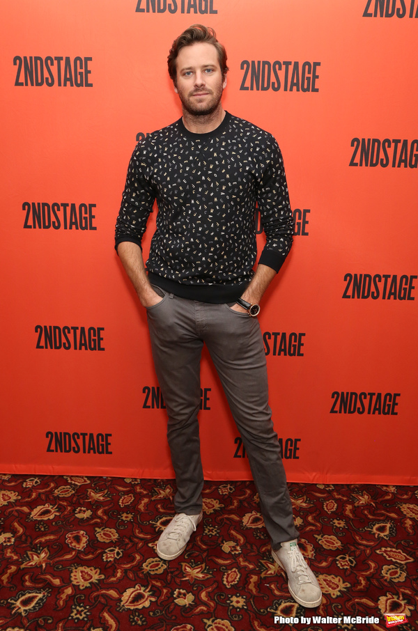 Photo Coverage: Meet the Cast of STRAIGHT WHITE MEN, Including Armie Hammer,Tom Skerritt,and More!
