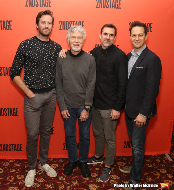 Armie Hammer,Tom Skerritt, Paul Schneider and Josh Charles  Photo