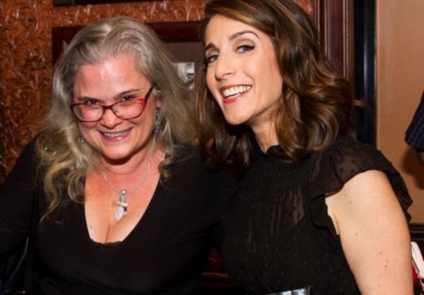 Rachel Ulanet with her director, Julie Reyburn. Photo: Takako Harkness Photo