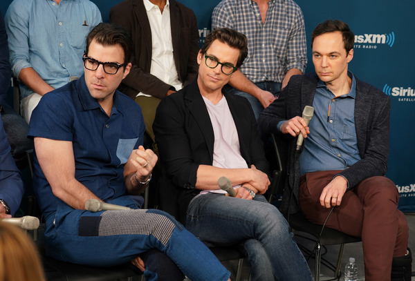 Zachary Quinto, Matt Bomer and Jim Parsons Photo