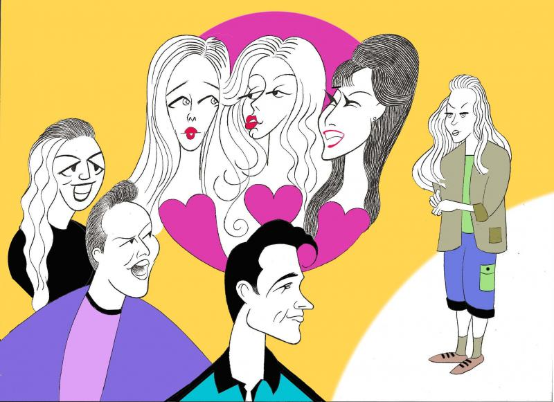 BWW Exclusive: Ken Fallin Draws the Stage - The Cast of MEAN GIRLS!