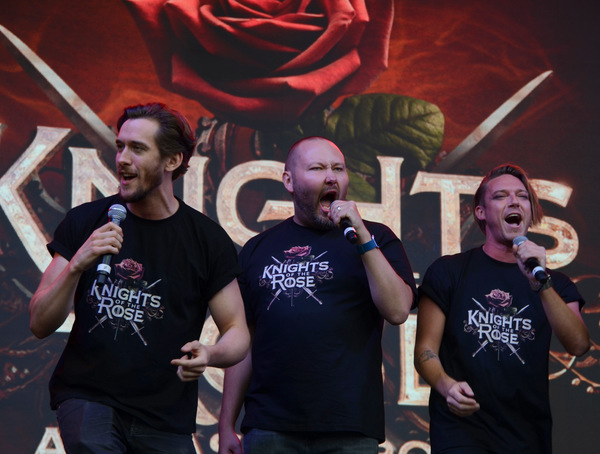 Photos: The West End's Best Come Out For West End Live - THE KNIGHTS OF THE ROSE, Matt Cardle, Louise Dearman