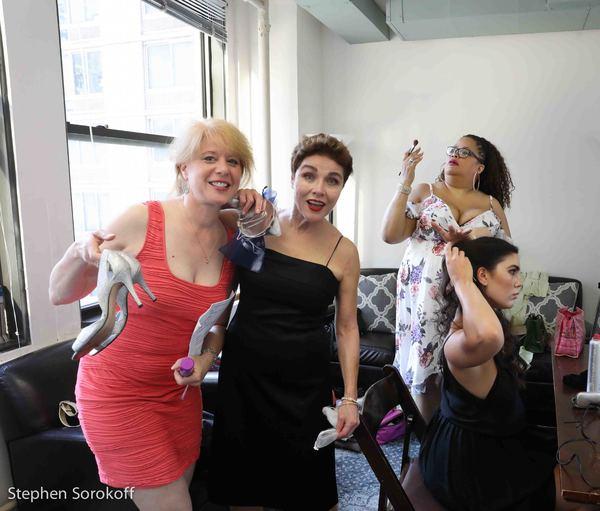 Deborah Grace Winer, Christine Andreas, Natalie Douglas, Amelia Berry Photo
