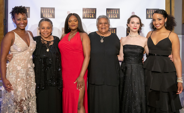 Anita Welch, Gloria Ray-Karlmark, Shanice Williams, Minnijean Brown-Trickey, Rebekah Brockman, Stephanie Umoh
