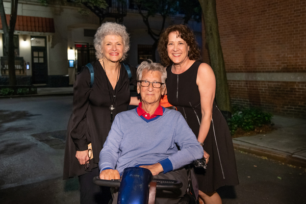 Angelina Fiordelissi, Playwright Charles Mee and Karen Ziemba