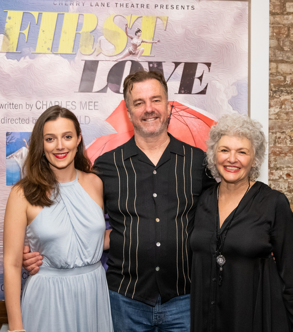 Photo Flash: FIRST LOVE Opens at Cherry Lane