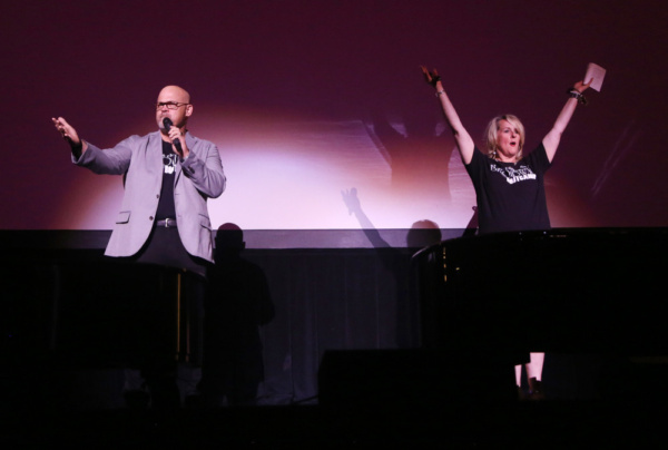 President of ArtsOK, Mark Frie & Director of The Broken Arrow Performing Arts Center, Kim Vento