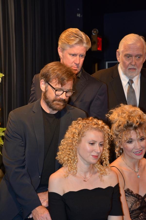 Drew McVety, Karl Kanzler, Jim Brochu, Margaret Loesser Robinson and Scarlett Strallen