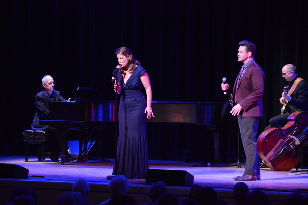 Ross Patterson (Musical Director), Marina Jurica and Brian Charles Rooney