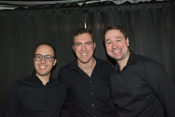 Michael Verre, Peter Surace and Michael Santora Photo
