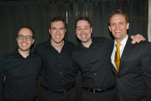 Michael Verre, Peter Surace, Michael Santora and Danny Gardner Photo
