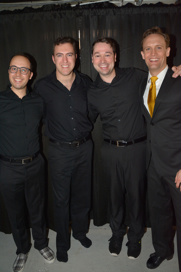 Michael Verre, Peter Surace, Michael Santora and Danny Gardner Photo