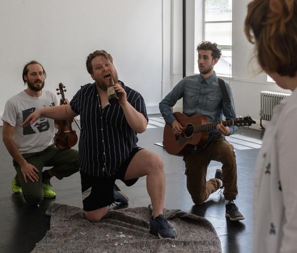 Jack Beale, Danny Kirrane and Silas Wyatt-Barke Photo