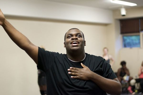 Photo Flash: In Rehearsal With Hope Summer Rep's THE WIZ
