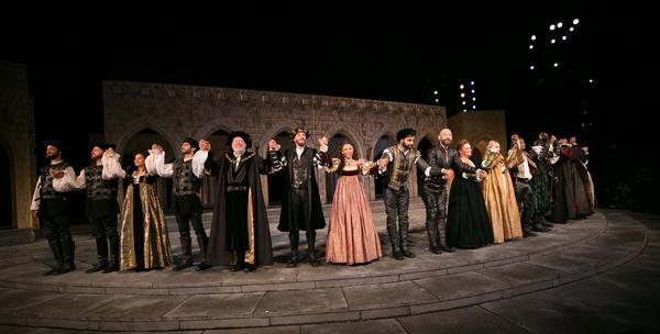 Photo Flash: Shakespeare in the Park's OTHELLO Celebrates Opening Night