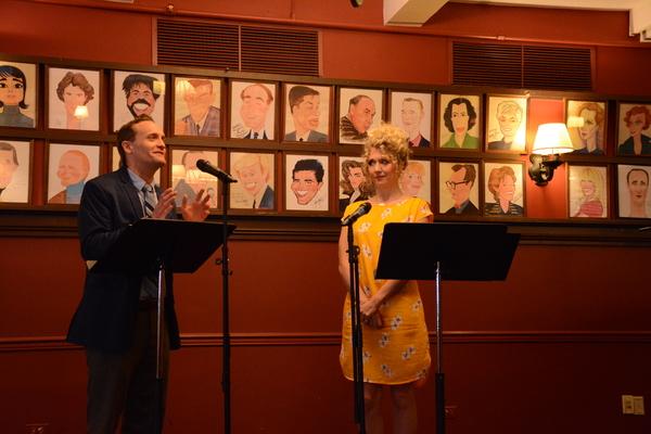 Danny Gardner and Scarlett Strallen