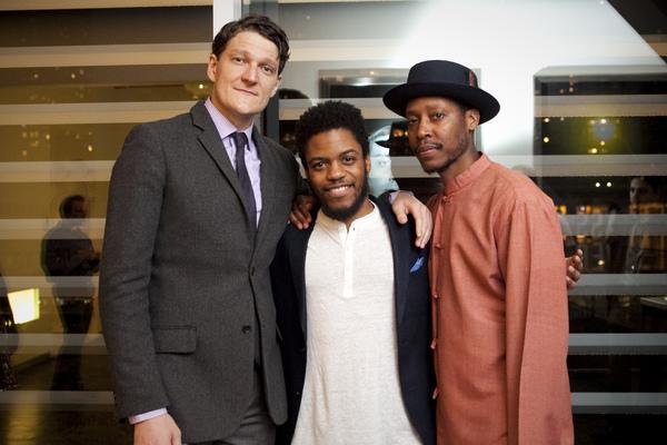 Gabriel Ebert, Jon Michael Hill, and Namir Smallwood