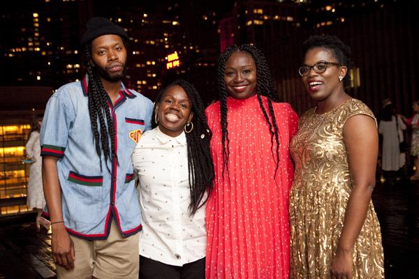 Photo Flash: PASS OVER Celebrates Opening Night