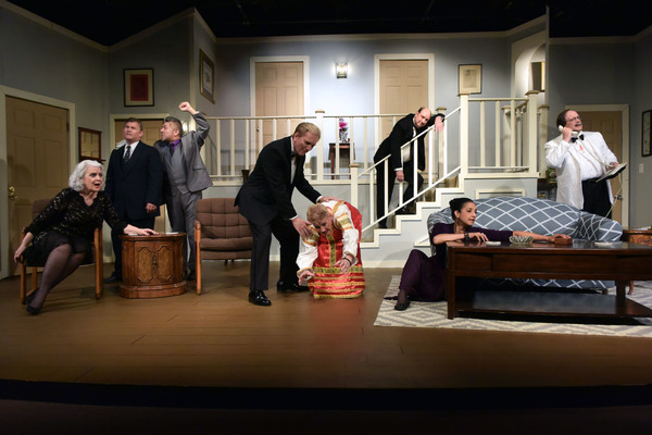 Photo Flash: First Look at Neil Simon's RUMORS at the Lonny Chapman Theatre