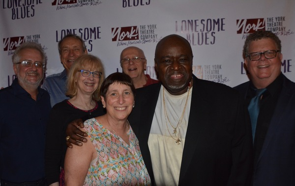 The York Theatre Board of Directors with Akin Babatunde that includes Alan Govenar, W. David MCCoy, Victoria Cundiff, Joan Ross Sorkin, and James Morgan