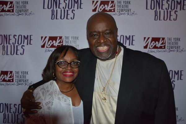 Suzette Bloiunt and Akin Babatunde