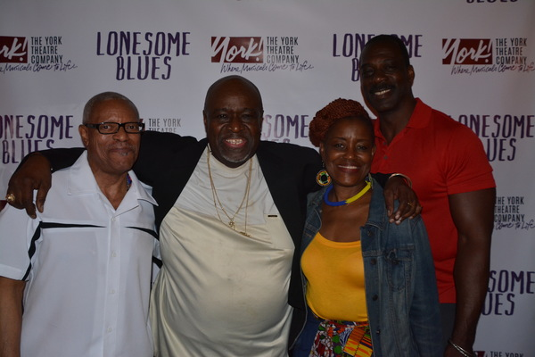 Akin Babatunde with family and friends Kevin Chisholm, Tima Baker and Bruce Spencer