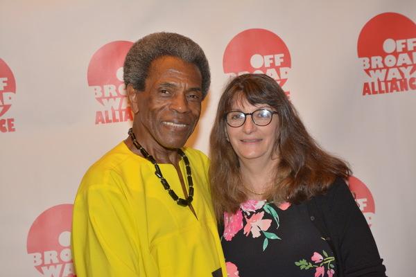 Andre De Shields and Carol Rosegg Photo