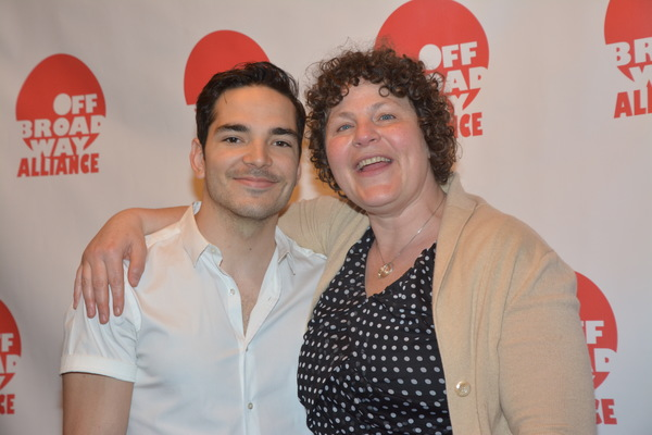 Juan Castano and Lucy Thurber Photo