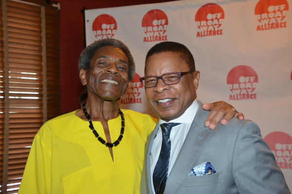 Andre De Shields and Stephen Byrd