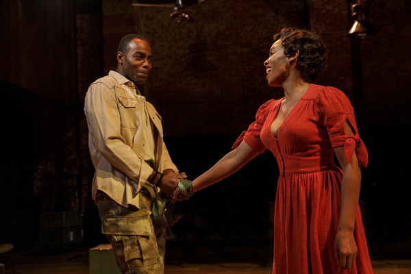 Photo Flash: First Look at Classic Stage Company's CARMEN JONES Starring Anika Noni Rose