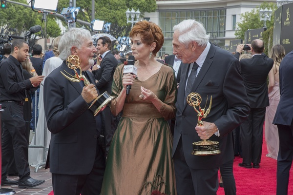 Carolyn Hennesy interviews Sid & Marty Krofft on the Daytime EmmyÂ�® Awards Red Carpet