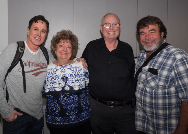 Davis Gaines, Susan Dawson, Jim Dawson, and Bob Philips Photo