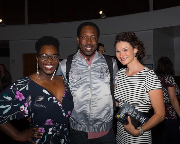 Gabrielle Jackson, Tym Brown, and Lauren Decierdo