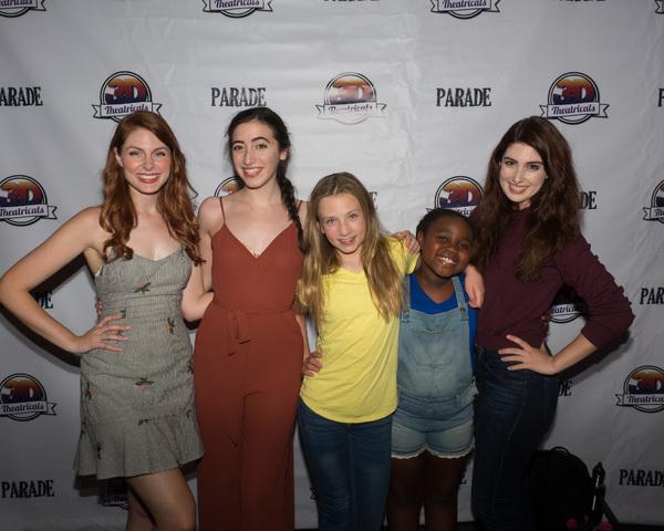 Renna Nightingale, Jenna Rosen, Noelle Lidyoff, Kayla Joy Smith, and Valerie Rose Lohman