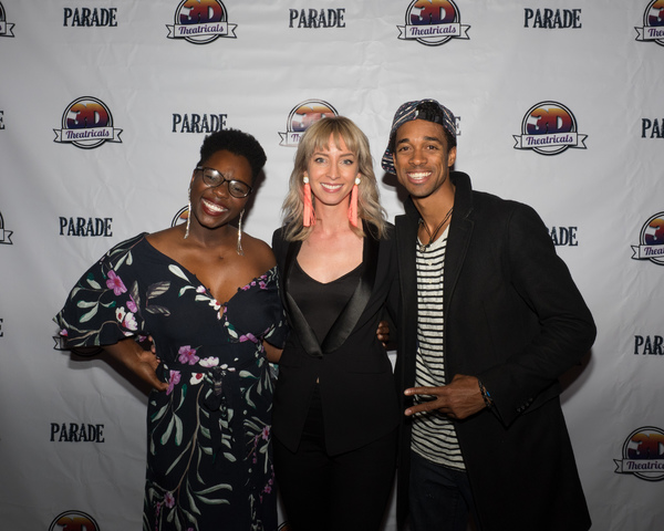 Gabrielle Jackson, Julia Aks, and Patrick Batiste Jr.
