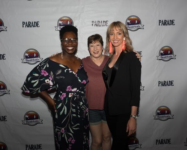 Gabrielle Jackson, Lisa Dyson, and Julia Aks