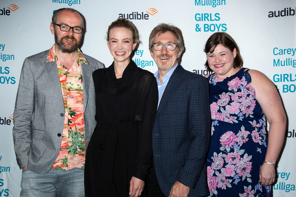 Dennis Kelly, Carey Mulligan, Donald Katz, Kate Navin Photo