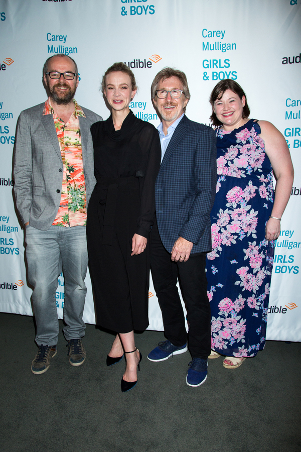 Dennis Kelly, Carey Mulligan, Donald Katz, Kate Navin