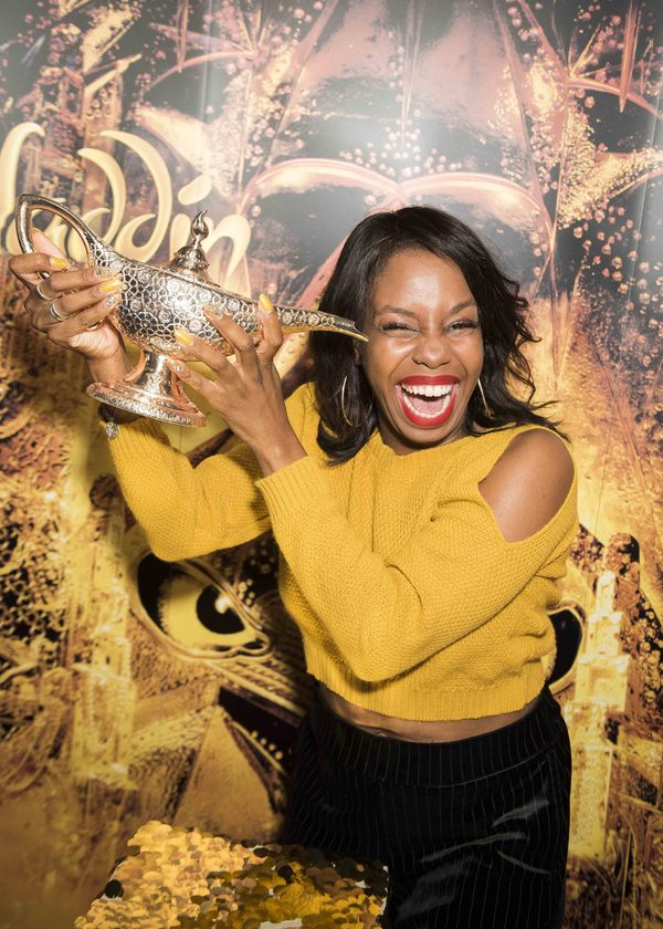 London Hughes attends Disney's Aladdin West End 2nd Anniversary party at the Century  Photo