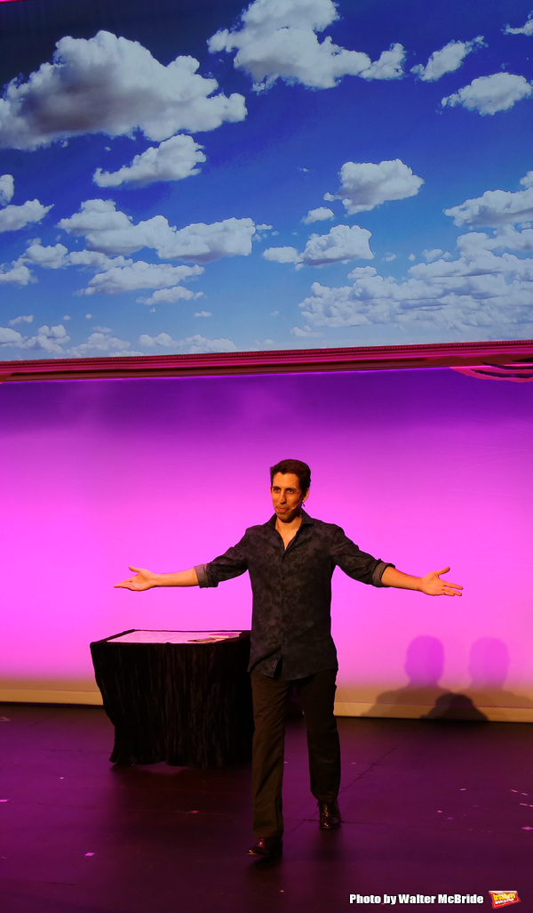 Vitaly Beckman during the Off-Broadway Opening Night Curtain Call for 'Vitaly: An Eve Photo