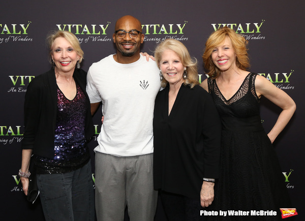 Julie Halston, Brandon Victor Dixon, Daryl Roth and and Maddie Corman