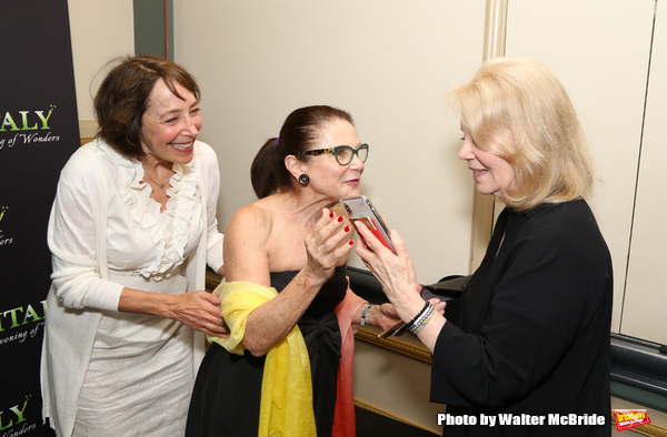 Didi Conn, Tovah Feldshuh and Daryl Roth