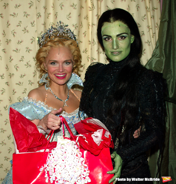Kristin Chenoweth and Idina Menzel help to kick off Actors' Equity's 17th Annual Stephen J. Falat Basket Project. This year, over 2500 Holiday Baskets will be delivered to more than 20 hospitals, AIDS hospices, pediatic AIDS centers and HIV community serv