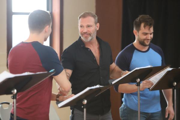 Daniel Beeman, Jim Newman, and BJ Gruber