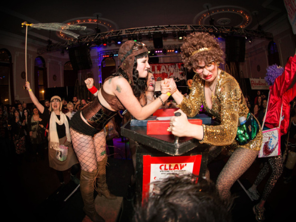 Photo Flash: Chicago League Of Lady Arm Wrestlers' CLLAW XXX: Dirty Thirty Throwdown Comes to Logan Square Auditorium