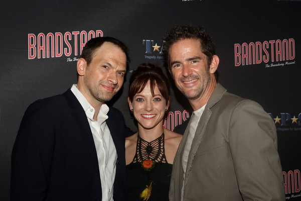 Photo Flash: Andrew Keenan-Bolger, Krysta Rodriguez and More Attend BANDSTAND in Cinemas
