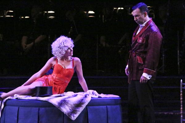 Laura Bell Bundy and Robert Mammana