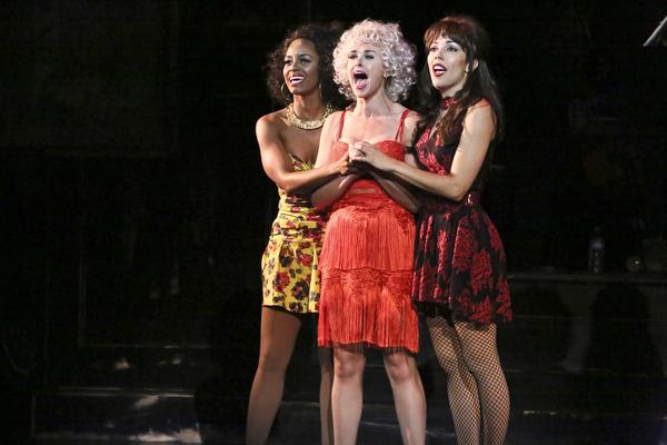 Krystal Joy Brown, Laura Bell Bundy and Yvette Gonzalez-Nacer